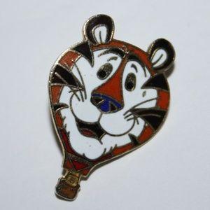 Vintage 1985 Tony the Tiger Kellogg pin